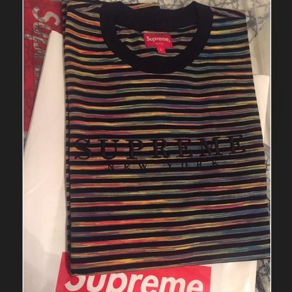 0d070d8821ce Supreme Shirts | Sold Static Logo Tee | Poshmark